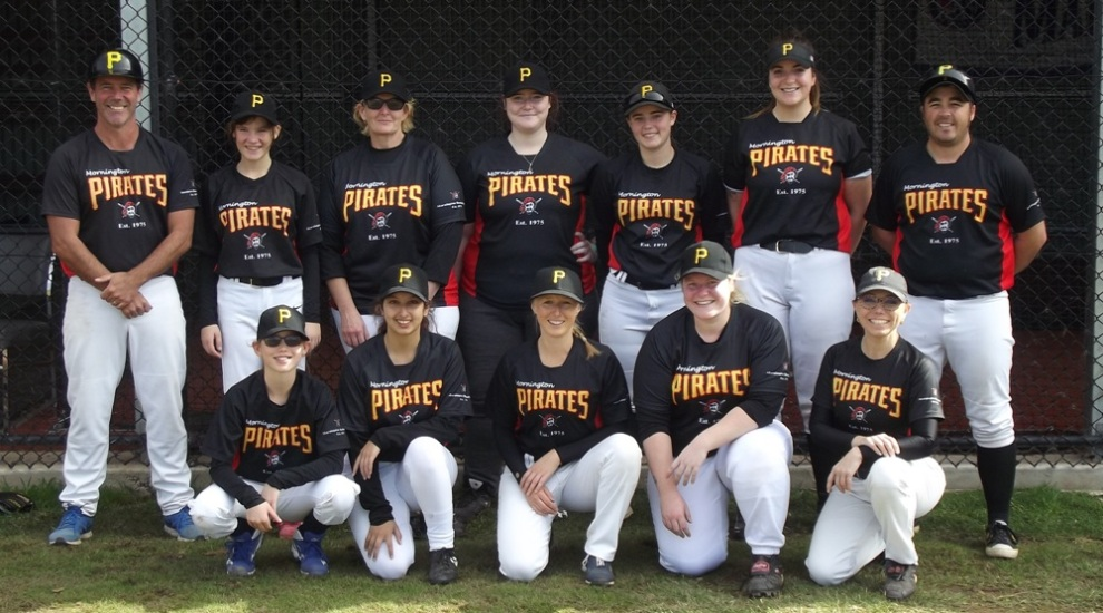 Inaugural Women Pirates Team